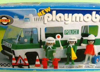 Playmobil - 9001-lyr - Fourgon de police