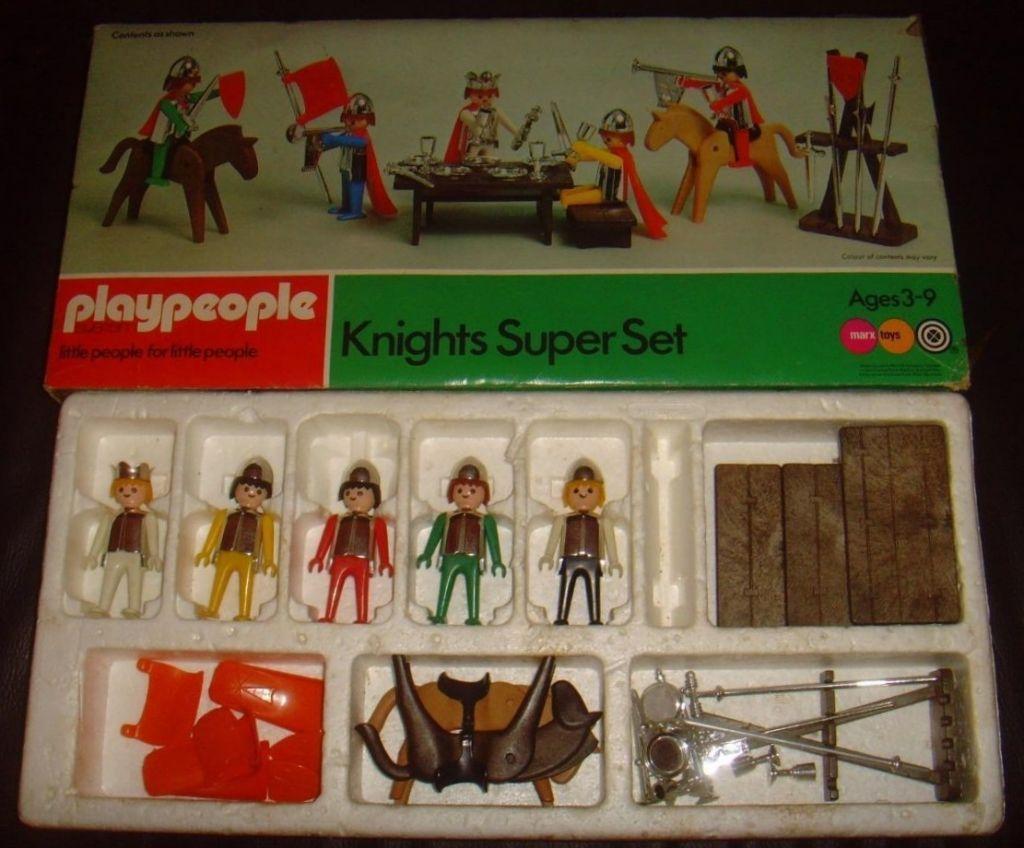 Playmobil 1710-pla - Knights SuperSet - Box