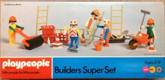 Playmobil - 1720v2-pla - Builders Super Set