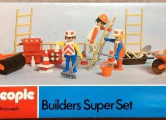 Playmobil - 1720v2-pla - Builders Super Set