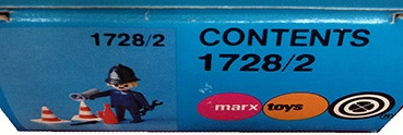 Playmobil 1728/2-pla - Bobby - Back