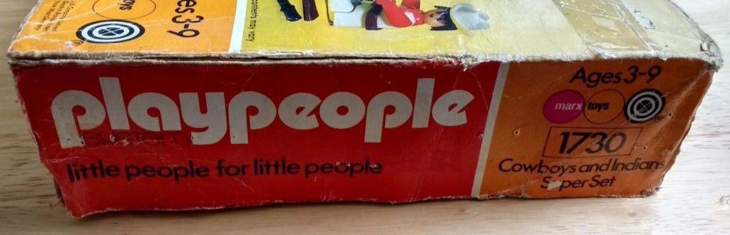 Playmobil 1730-pla - Cowboys and Indians Super Set - Box