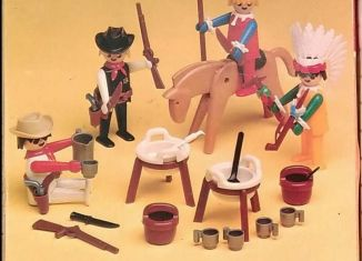 Playmobil - 1731v1-pla - Cowboys and Indians Basic Set