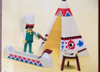 Playmobil - 1735-pla - Indian Chief's Wigwam