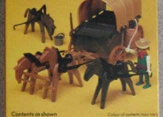 Playmobil - 1737-pla - Covered Wagon