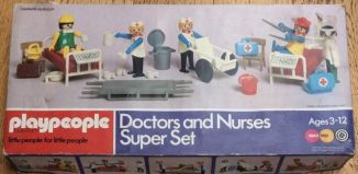 Playmobil - 1740-pla - Doctors and Nurses Super Set