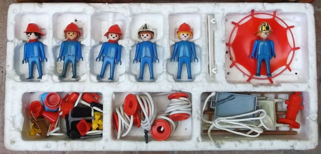 Playmobil 1750-pla - Firemens Super Set - Back