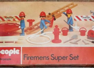 Playmobil - 1750-pla - Firemens Super Set