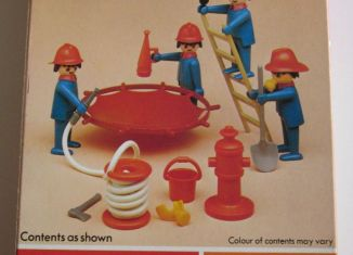 Playmobil - 1751-pla - Firemens Basic Set