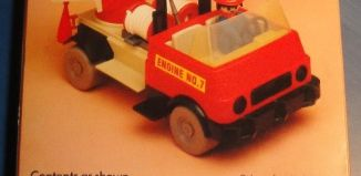 Playmobil - 1755v1-pla - Fire Engine