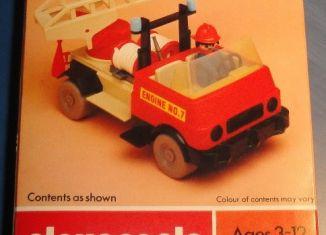 Playmobil - 1755v1-pla - Fire Engine