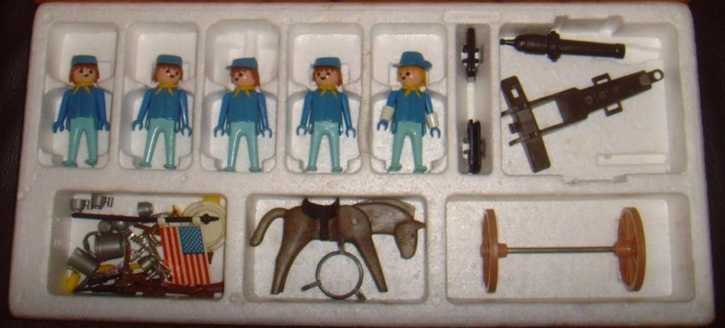 Playmobil 1770-pla - U.S. Cavalry Super Set - Back