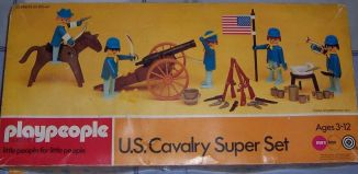 Playmobil - 1770-pla - U.S. Cavalry Super Set