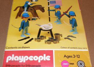 Playmobil - 1771-pla - U.S. Cavalry Basic Set