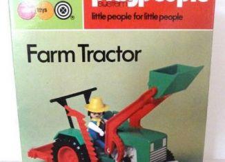 Playmobil - 1787-pla - Farm Tractor