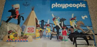 Playmobil - 3406-pla - Indian Camp Set