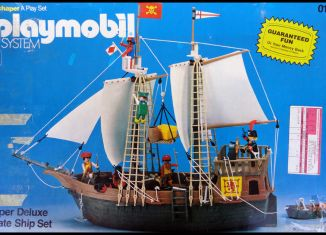 Playmobil - 0104-sch - Super Deluxe Pirate Ship Set