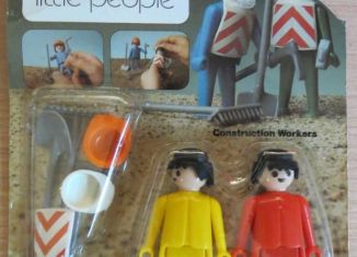 Playmobil - 014s2v2-sch - Construction workers