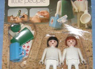 Playmobil - 059-sch - Doctor & Nurse