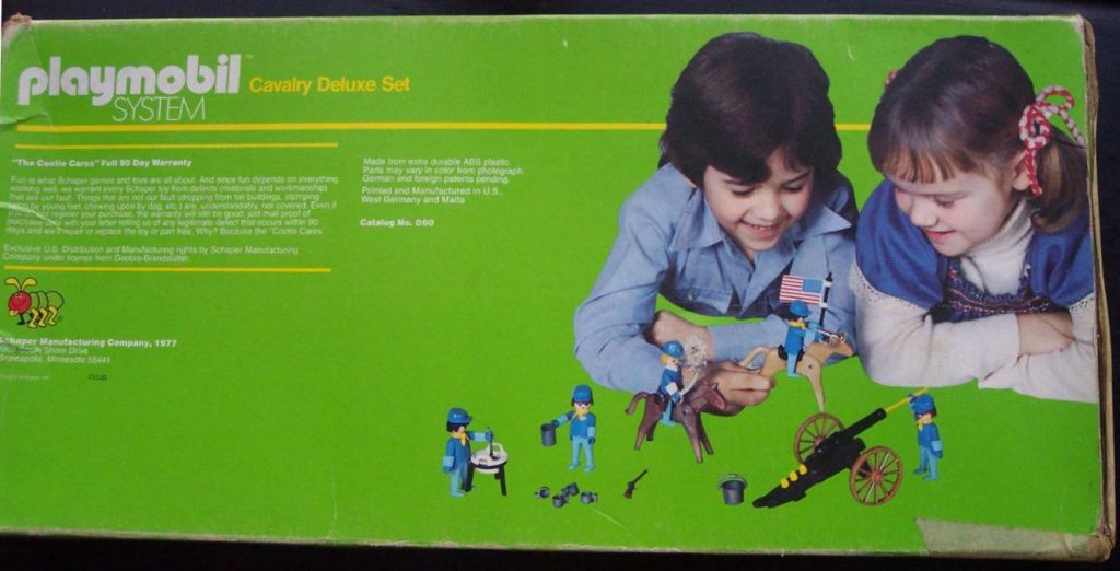 Playmobil 060-sch - Cavalry Deluxe Set - Box