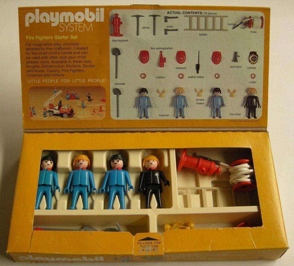 Playmobil 071-sch - Fire Fighters Starter Set - Back