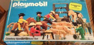 Playmobil - 1003-sch - Cowboy Special Deluxe Set