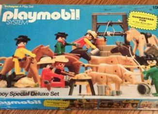 Playmobil - 1003-sch - Cowboy Special Deluxe Set