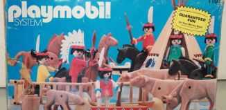 Playmobil - 1103v2-sch - Indian Special Deluxe Set