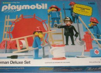 Playmobil - 1402-sch - Feuerwehr Luxus Set