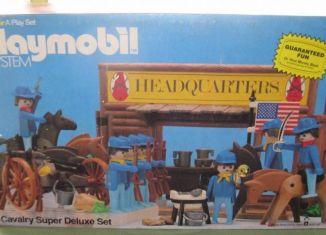 Playmobil - 1704-sch - Cavalry Super Deluxe Set