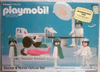 Playmobil - 1802-sch - Doctor & Nurse Deluxe Set