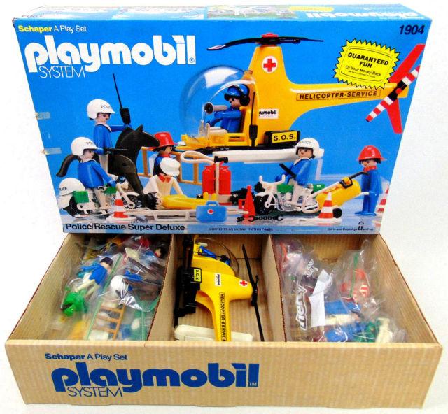 Playmobil 1904-sch - Police Rescue Super Deluxe - Box
