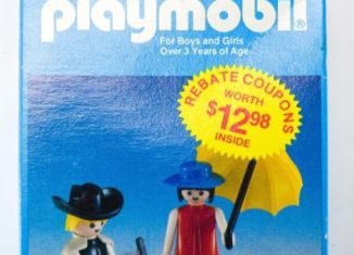 Playmobil - 2954-sch - Sherif and Wife
