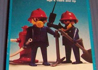 Playmobil - 3162-sch - 2 firemen