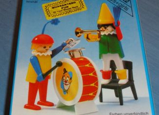 Playmobil - 3578-sch - Clowns musicians