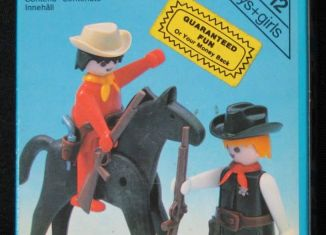 Playmobil - 3581v1-sch - Sheriff and Cowboy