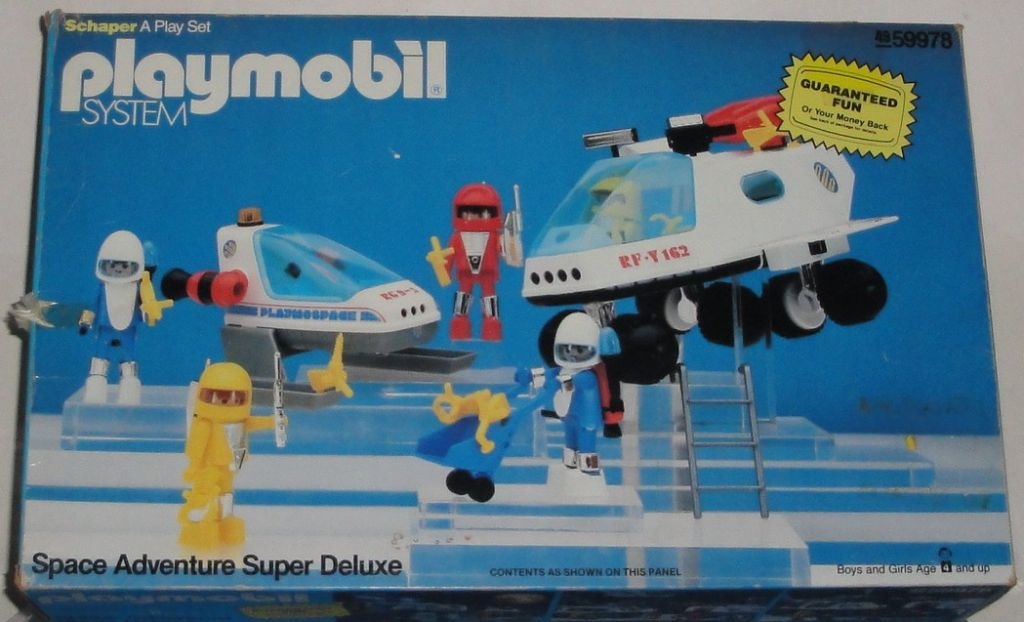 Playmobil 49-59978-sch - Space Adventure Super Deluxe - Box