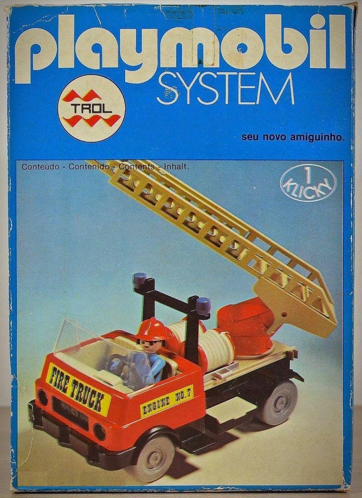 Playmobil 23.23.6-trol - Fire Truck - Box