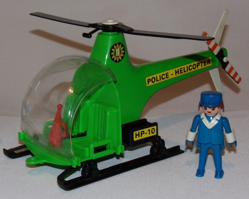 Playmobil 23.70.1-trol - Police helicopter - Back