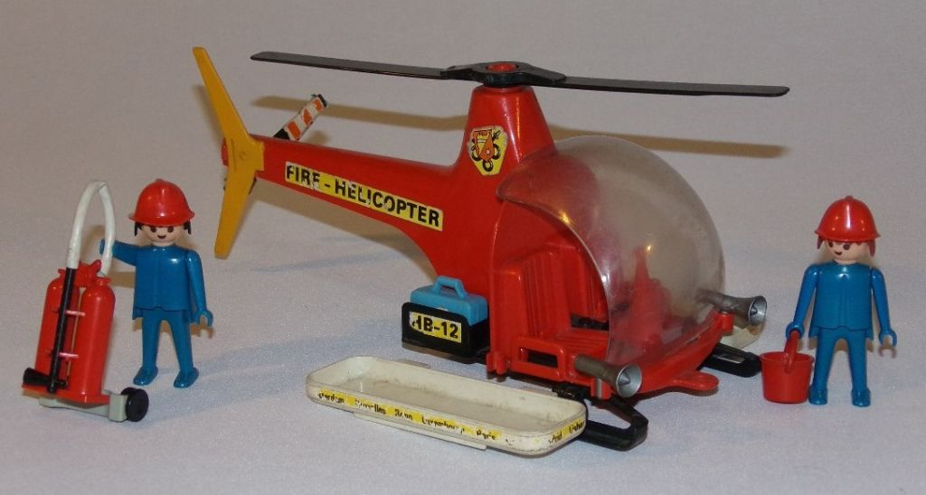 Playmobil 23.70.2-trol - Fire helicopter - Back