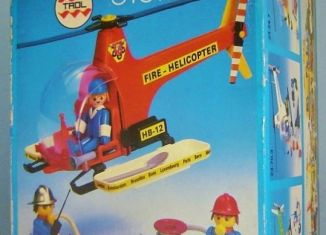 Playmobil - 23.70.2-trol - Fire helicopter