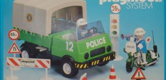 Playmobil - 23.70.5-trol - Police truck + motorbike