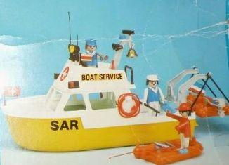 Playmobil - 23.72.1-trol - Boat Service
