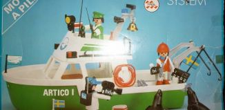 "Playmobil - 23.72.2-trol - Expeditionboat "" Artico I """