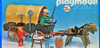 Playmobil - 23.24.3-trol - Cowboys cart