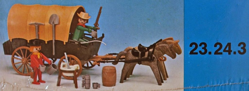 Playmobil 23.24.3-trol - Cowboys cart - Back