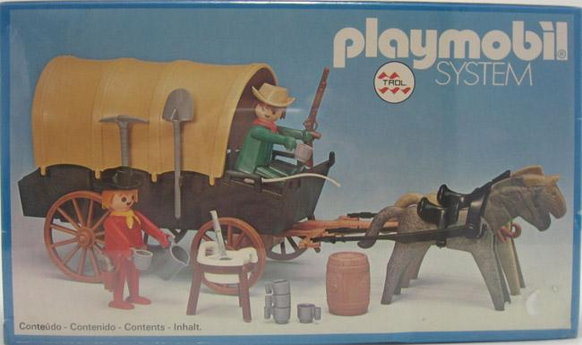 Playmobil 23.24.3-trol - Cowboys cart - Box