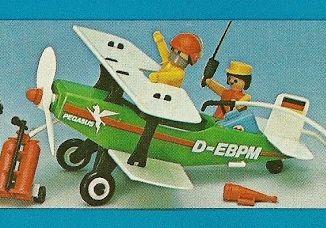 Playmobil - 23.24.6-trol - Biplane Pegasus
