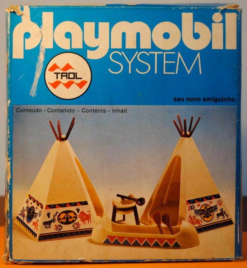 Playmobil 23.25.2-trol - Indian tepees - Box