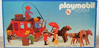 Playmobil - 23.75.0-trol - Red stagecoach